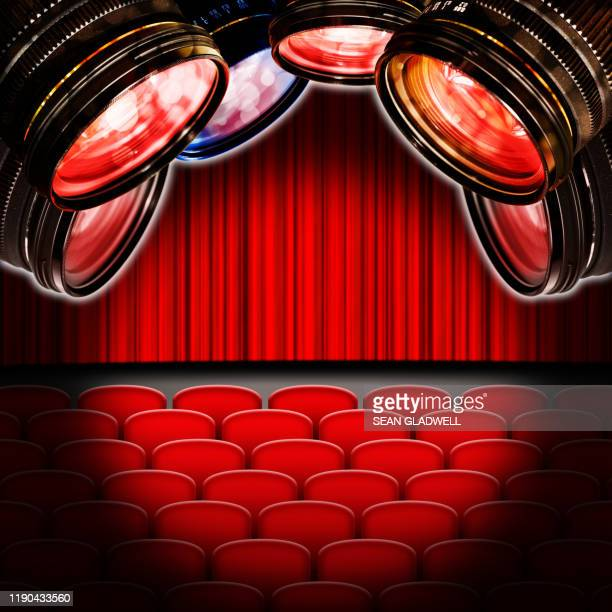 theatre cameras - premiere stock pictures, royalty-free photos & images