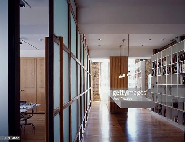 Theatre Designers Studio London United Kingdom Architect Bere Architects Theatre Designers Studio Kitchen To Studio Through Glass Screen
