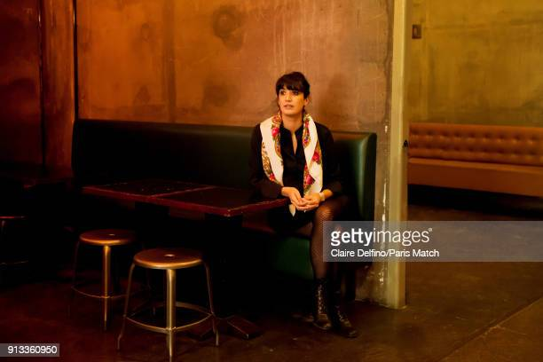 Theatre director Caroline Guiela Nguyen is photographed for Paris Match on January 16, 2018 in Paris, France.