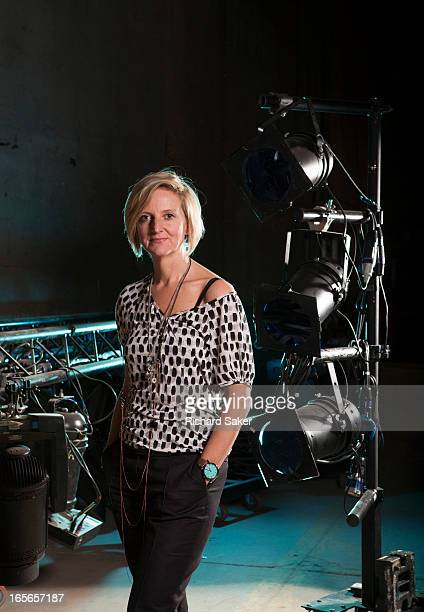 Theatre director Marianne Elliott is photographed for the Observer on January 23 2013 in London England