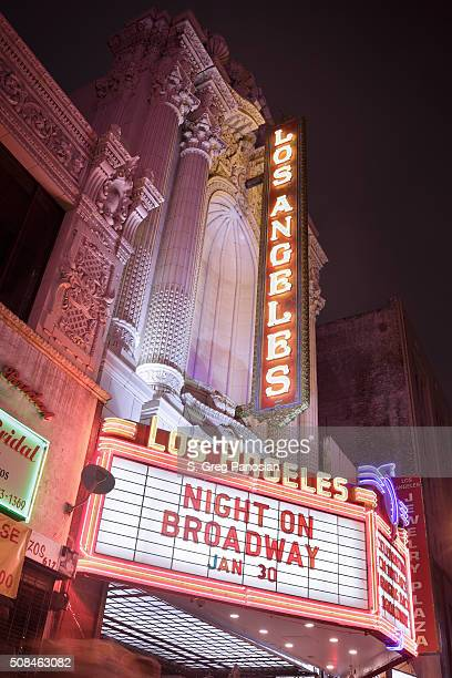 Theatre Facade and Marquee - Los Angeles