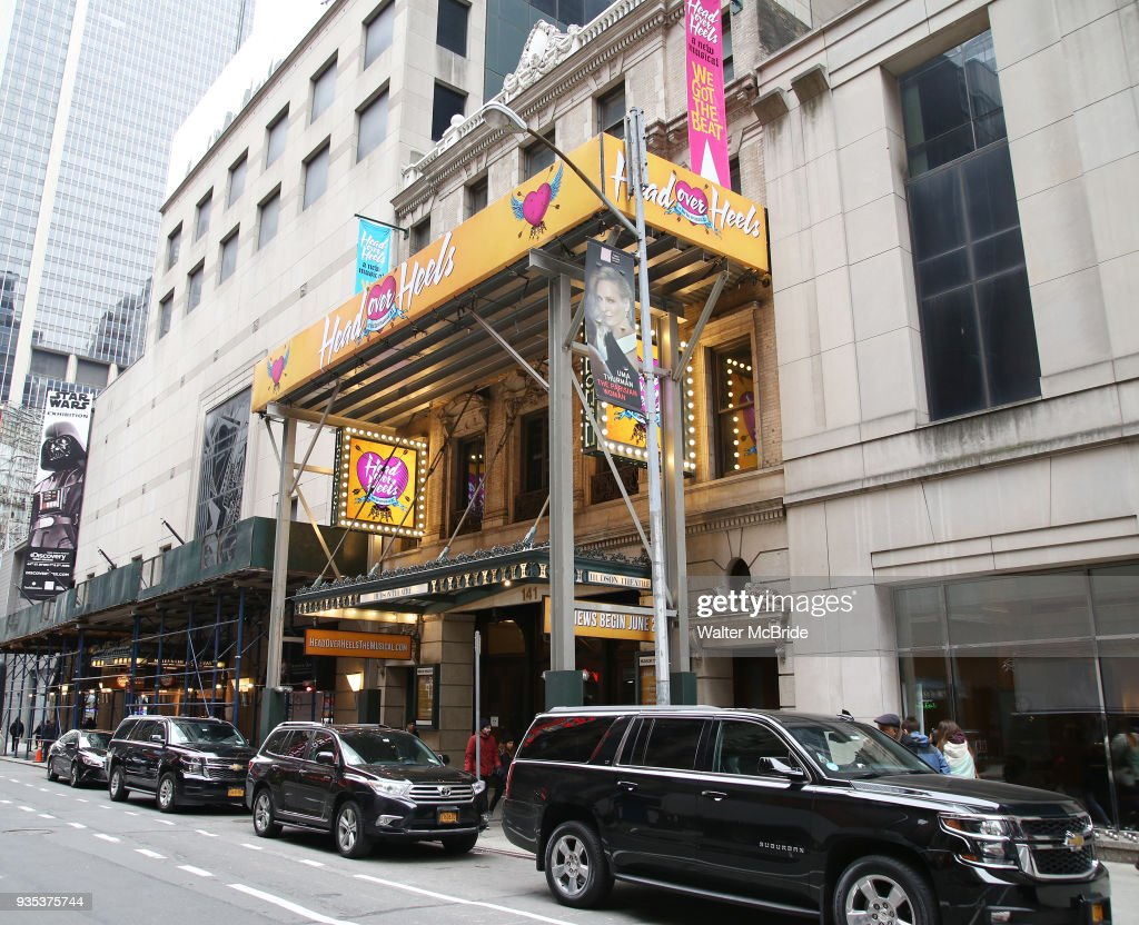 """Head Over Heels"" Theatre Marquee Unveiling"