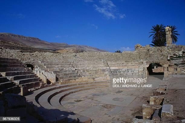 Theatre of Bulla Regia Tunisia Roman civilisation 2nd century AD