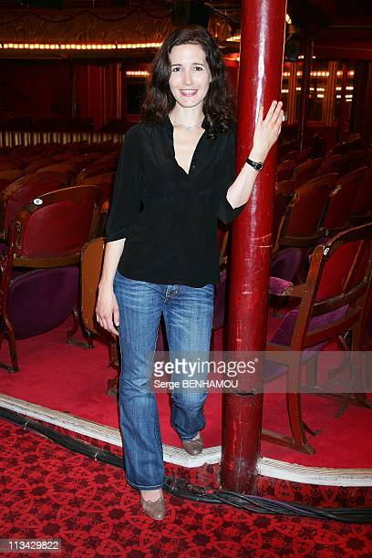 Theatre Prive First Part Of The 20092010 Season At The 'Theatre Des Folies Bergere' In Paris France On June 18 2009 Chloe Lambert