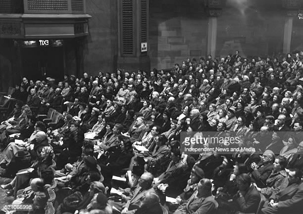 Theatre Royal Celebrity Concert Section of audience 27 February 1954 R334