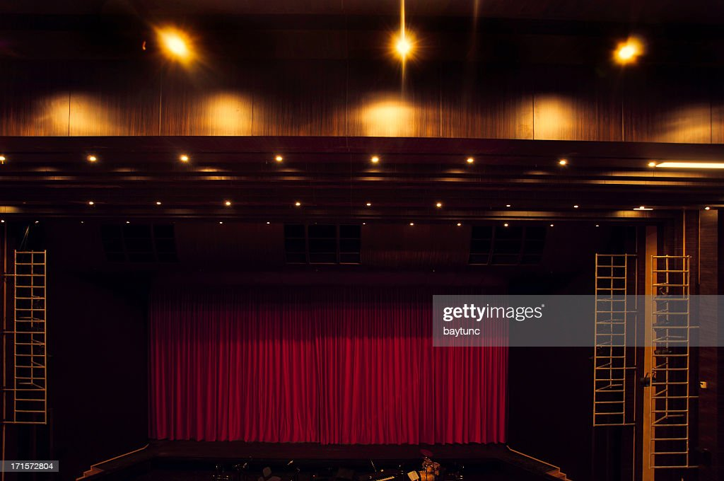 theatre stage : Stock Photo