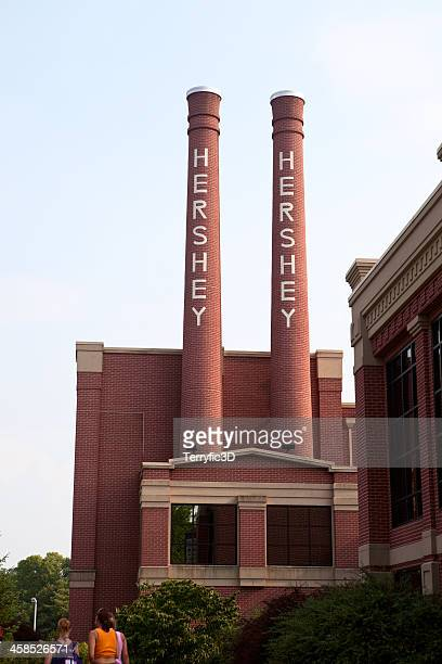 theatre wing of hershey's chocolate world, pennsylvania - terryfic3d bildbanksfoton och bilder