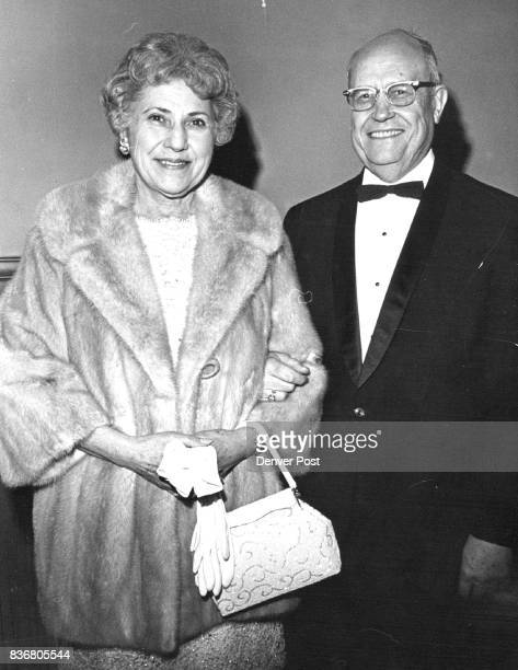 Theatregoers Ate At Quorum Mr and Mrs Anthony Zarlengo arrive at Bonfils Theatre after subscription dinner at the Quorum Credit Denver Post