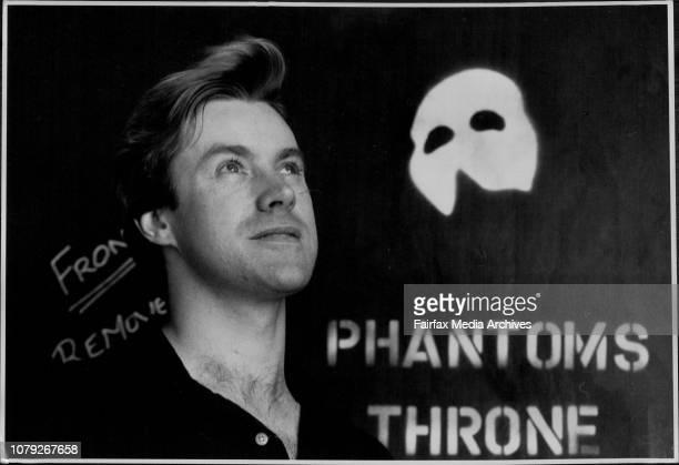 Theatre-Prods - Phantom of The Opera. October 24, 1990. .