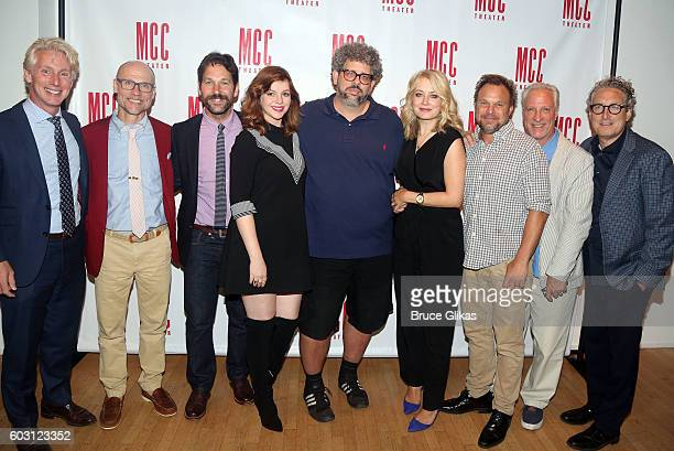 MCC Theatre's Blake West MCC Theatre's Will Cantler Paul Rudd Amber Tamblyn Neil LaBute Jennifer Mudge Norbert Leo Butz MCC Theatre's Robert LuPone...