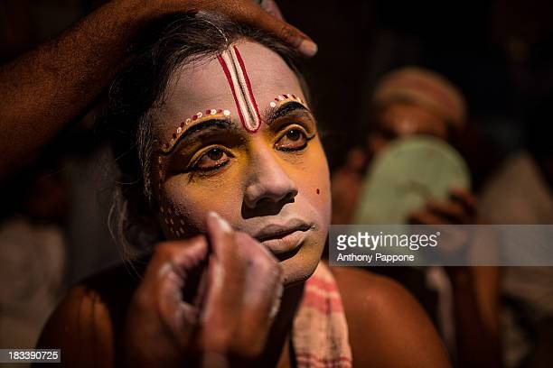 Theatrical art Sattriya in the monasteries in the island of Majuli is the largest river island in the world, is situated on the river Brahmaputra in...