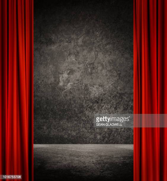 theatrical backdrop - acting performance stock pictures, royalty-free photos & images