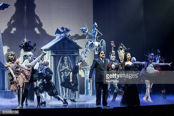 Theatrical debut Turin for the musical by Stefano Benni quotThe Addams Familyquot starring Elio songwriter and leader of the group Elio e Le Storie...