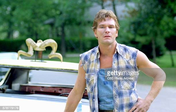 A theatrical movie originally released August 3 1984 Pictured Patrick Swayze Frame grab