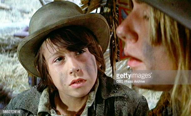 MAN theatrical movie originally released December 23 1970 The film directed by Arthur Penn Pictured from left to right Ray Dimas and Carole Androsky...
