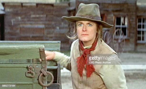 MAN theatrical movie originally released December 23 1970 The film directed by Arthur Penn Pictured Carole Androsky Frame grab