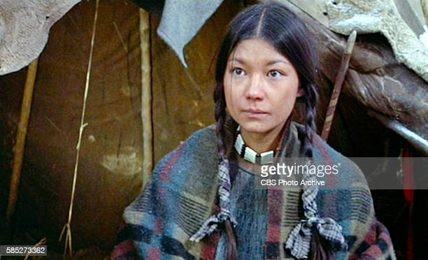 MAN theatrical movie originally released December 23 1970 The film directed by Arthur Penn Pictured Aimee Eccles wife of Little Big Man Frame grab