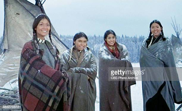 MAN theatrical movie originally released December 23 1970 The film directed by Arthur Penn Pictured at left Aimee Eccles with her sisters Digging...