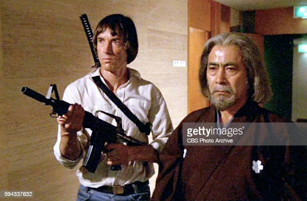 CHALLENGE theatrical movie originally released July 23 1982 The film directed by John Frankenheimer Pictured left to right Scott Glenn and Toshiro...