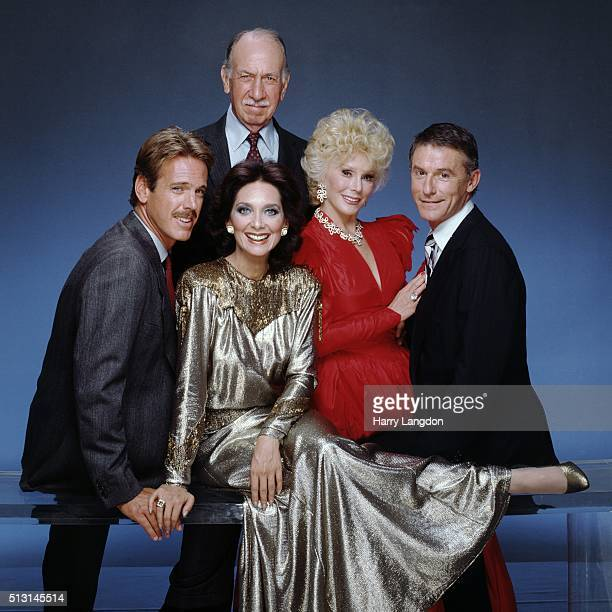 Thecast of TV show Bridges To Cross poses for a portrait in 1985 in Los Angeles California