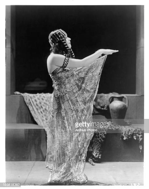 Theda Bara dances in a scene from the film 'Cleopatra' 1917