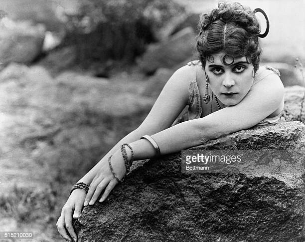 Theda Bara epitome of the vamps in a scene from Carmen Undated movie still