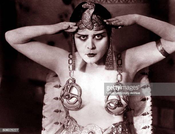 Theda Bara in the 1917 movie Cleopatra Photo by