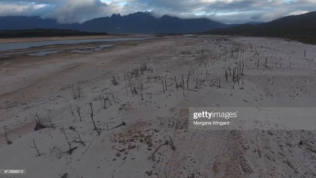 Residents Of Cape Town Face Worsening Drought Conditions And Water Restricitions : News Photo
