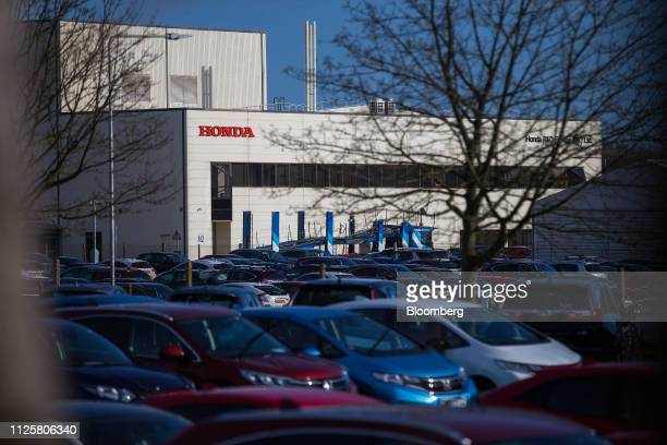 TheHonda Motor Co. Auto plant stands in Swindon, U.K., on Tuesday, Feb. 19, 2019. Hondasaid it plans to close its factory in the U.K. In the...