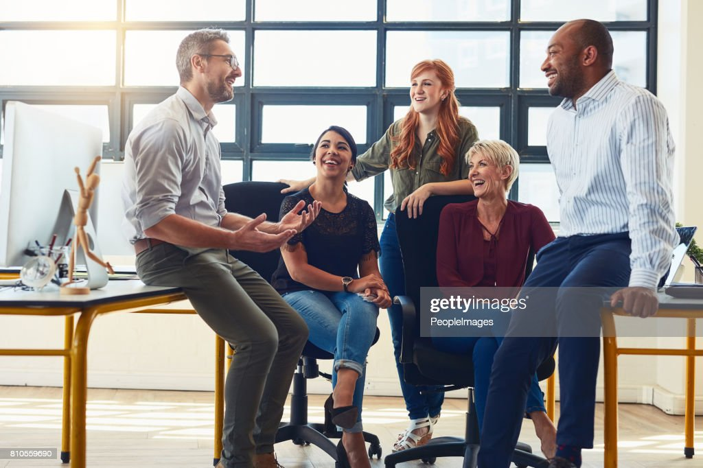 Their dynamic approach is what distinguishes them from the rest : Stock Photo
