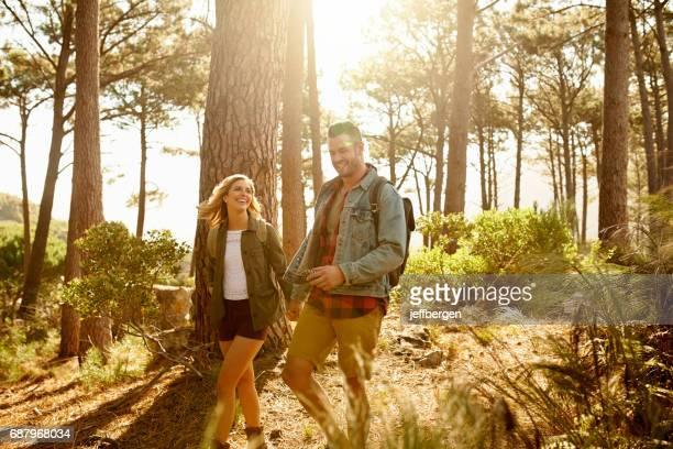 Hun eerste afspraakje was een outdoor