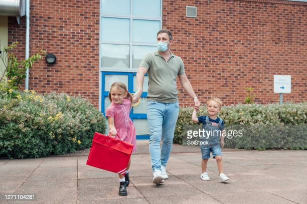 their first day at school - school building stock pictures, royalty-free photos & images