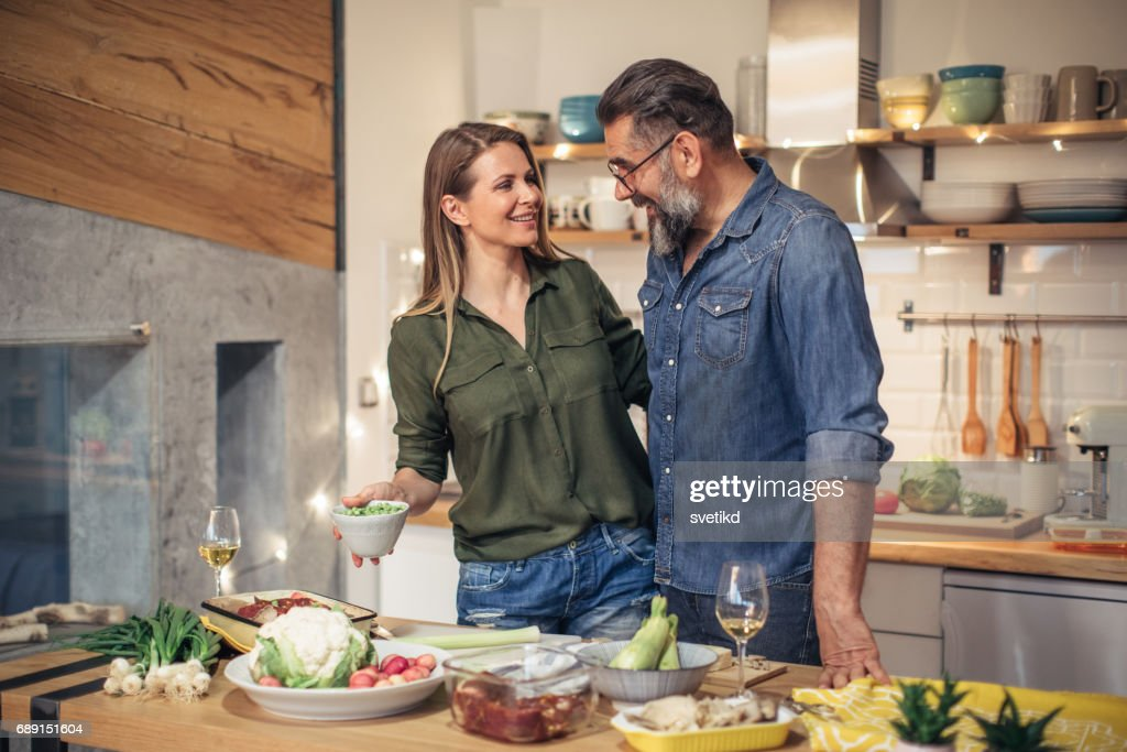 Their love is a fire hazard : Stock Photo