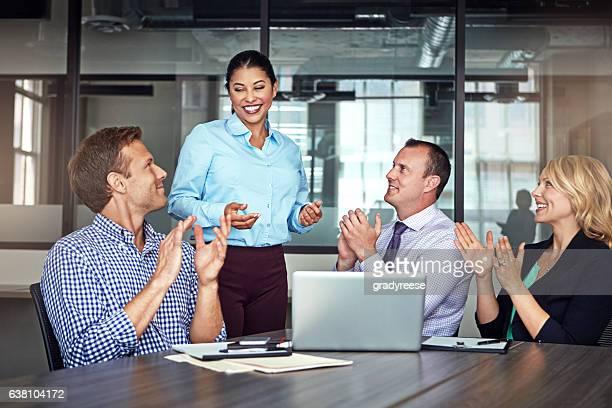 Their meeting was a sound success