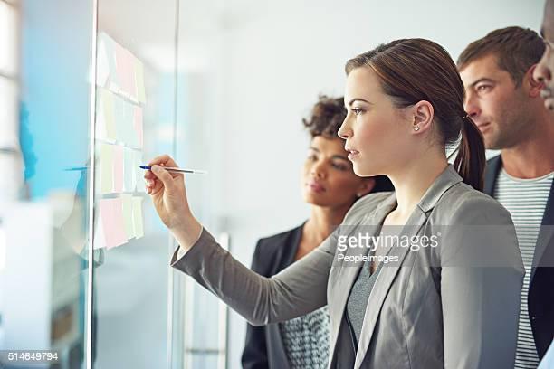 Toda su equipo está involucrado en la ejecución de un proyecto de exitoso