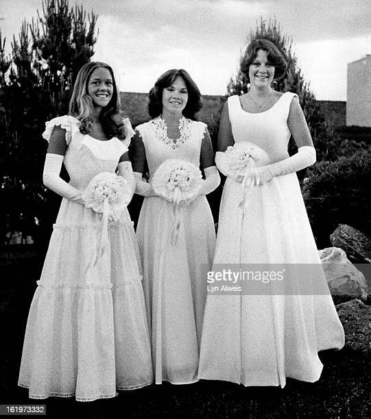 JUN 26 1978 JUN 28 1978 TheirDebut Was Monday From left Kimberly A Leonard Erin E Crowley and Kathleen A Clayton
