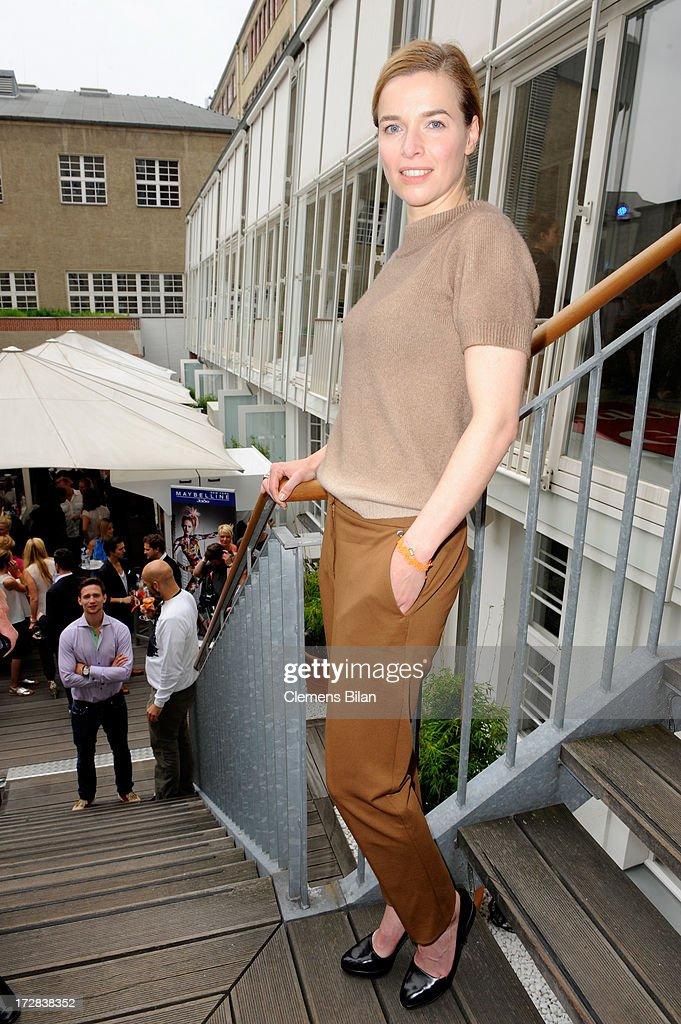 Thekla Reuten attends the Gala Fashion Brunch at Ellington Hotel on July 5, 2013 in Berlin, Germany.