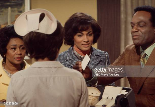 Thelma Carpenter Nipsey Russell Tracy Reed appearing in the Walt Disney Television via Getty Images series 'Barefoot in the Park'
