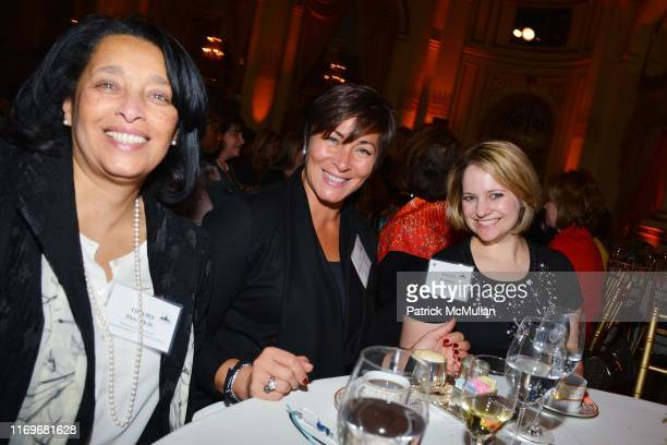 Thelma Dye Ghislaine Maxwell and Kaylen Giannini attend CITYMEALSONWHEELS Honors Lilliam BarriosPaoli Patricia Wexler MD At Its 28th Annual Power...