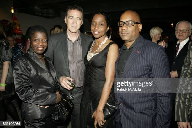Thelma Golden James Casebere Lorna Simpson and Glenn Ligor attend NEW MUSEUM UNGALA at 7 World Trade on April 29 2009 in New York City