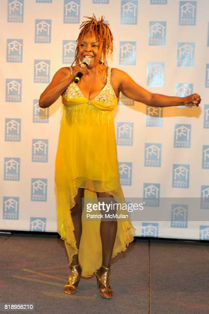 Thelma Houston attends MIRACLE HOUSE 20th Anniversary Memorial Day Summer Kickoff Benefit honoring Amy Chanos and Jim Chanos at Bridgehampton Tennis...