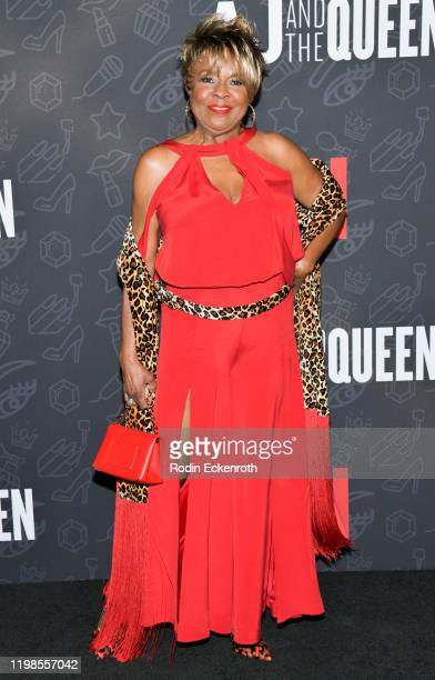 Thelma Houston attends Premiere of Netflix's AJ and the Queen Season 1 at the Egyptian Theatre on January 09 2020 in Hollywood California