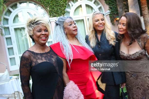 Thelma Houston Mary Wilson Suzanne de Passe and Freda Payne attend the 29th Annual Heroes And Legends Awards at Beverly Hills Hotel on September 23...