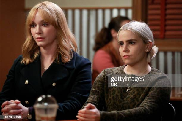 GIRLS Thelma Louise Episode 208 Pictured Christina Hendricks as Beth Boland Mae Whitman as Annie Marks