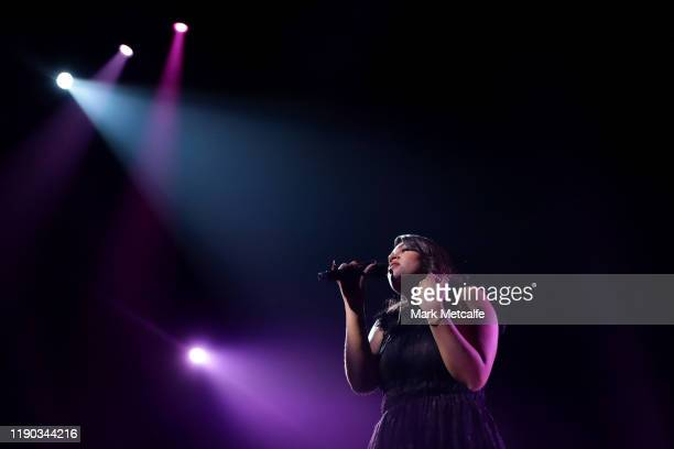 Thelma Plum performs during the 33rd Annual ARIA Awards 2019 at The Star on November 27 2019 in Sydney Australia