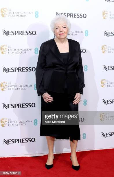 Thelma Schoonmaker attends the Nespresso British Academy Film Awards nominees party at Kensington Palace on February 9 2019 in London England