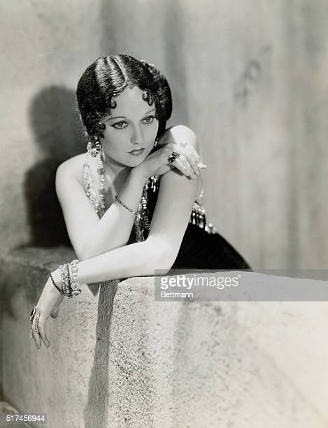 Thelma Todd black wig and all as Nellie Bly in Her Man which Tay Garnett is directing for Pathe with Helen Twelvetrees in the leading feminine role