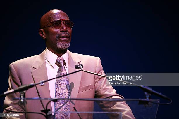Thelonious Monk Jr speaks at the Thelonious Monk Institute of Jazz 25th Anniversary Gala on September 12 2011 in Washington DC