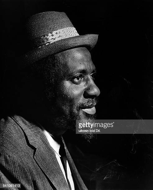 Thelonious Monk*19171982Jazz pianist and composer USAportrait undated