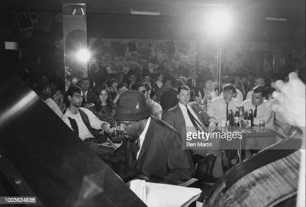 Thelonius Monk playing at the Five Spot Jazz Club at 2 St Mark's Place November 22 1963